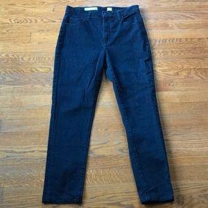 Pilcro skinny superscript high waist jeans 30